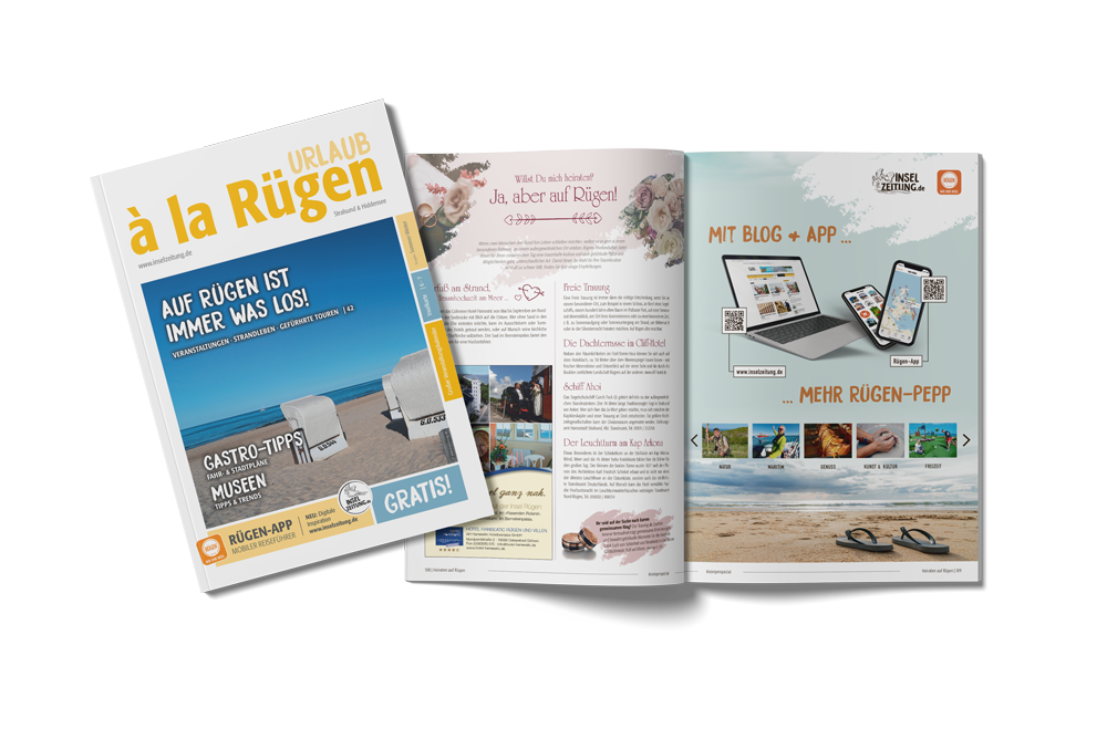 Blaetterversion urlaub a la ruegen | ap Marketing