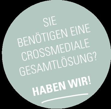 button crossmediale Loesung apmarketing | ap Marketing