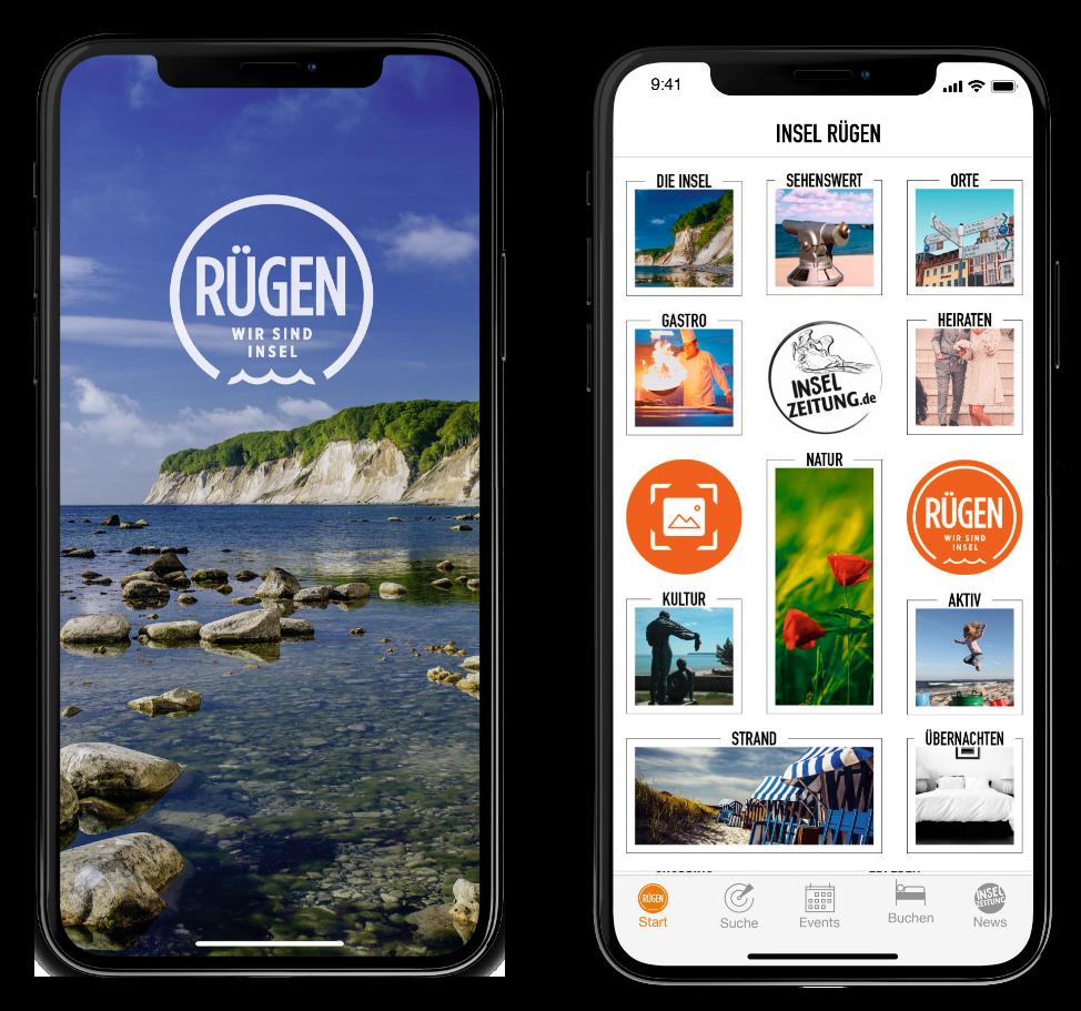 digitaler reisefuehrer ruegen app mit inselzeitung | ap Marketing