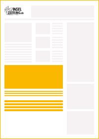inselzeitung werbeform visitenkarte | ap Marketing